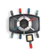Livoo - Raclette maker - Grill - Fondue - Voor 8 personen