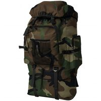 vidaXL Rugzak legerstijl XXL 100 L camouflage