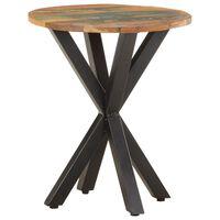 vidaXL Bijzettafel 48x48x56 cm massief gerecycled hout