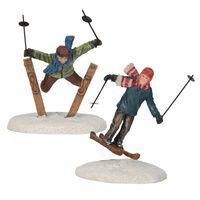 Luville - Ski Jumper 2 Pieces - Kersthuisjes & Kerstdorpen