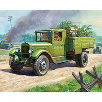 Zvezda - Soviet Truck Zis-5 (zve6124) - Model Speelgoed