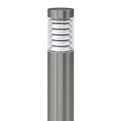 vidaXL Tuinpaallamp roestvrij staal