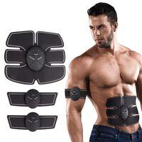 Batterijgevoede spierstimulator voor buikspieren, armen / benen