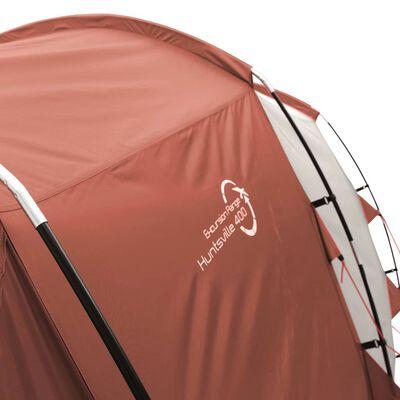 Easy Camp Tent Huntsville 400 4-persoons rood en crème