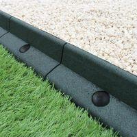Flexibele Borderrand - Groen - Set: 10 X 1.2 Meter