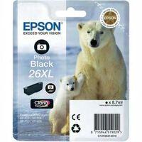 Epson 26XL (T2631) Inktcartridge Foto-zwart Hoge capaciteit