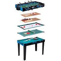 Van der Meulen Multispeeltafel 10-in-1 107x61x80 cm
