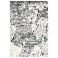 vidaXL Vloerkleed 160x230 cm PP grijs