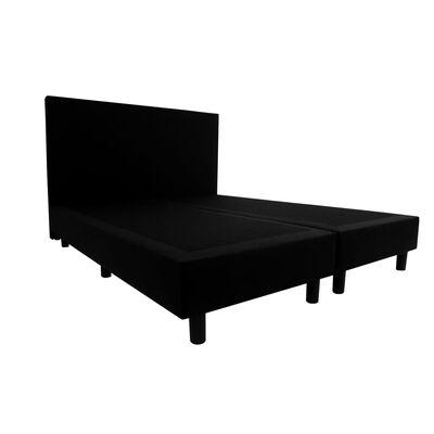 Bedworld Boxspring 160 X 210 Cm - Tweepersoons - Zwart