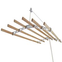 Droogrek Ophangbaar Plafond - Wit - 1.2m