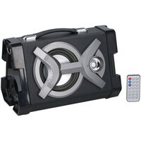 Dunlop Draadloze Speaker - Bluetooth - FM-radio - 20 W - Zwart