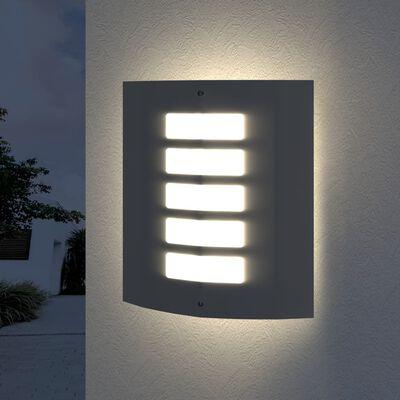 Buitenlamp RVS Falerna