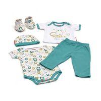 Fisher-Price Babykleding in Giftbox 5-delig blauw