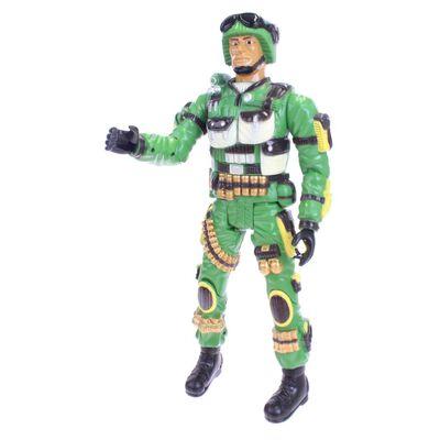 Toi-Toys actiefiguur Army soldaat beweegbaar 43 cm
