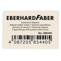 Gum Eberhard Faber voor potlood wit doos à 40 stuks