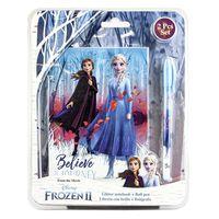 notitieboek Frozen 2 meisjes 24 x 19 cm karton 2-delig