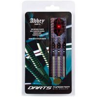Abbey Darts 3-delige Dartset 26 g 85% wolfraam zilverkleurig