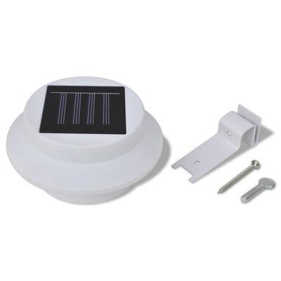 vidaXL Solar buitenlampset 6 stuks wit