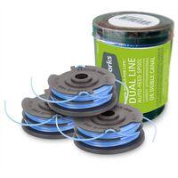 Greenworks 3-delige Spoelset met twee draden voor trimmer 3x1,6 mm
