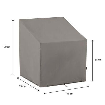 Madison Tuinstoelhoes 75x78x90 cm grijs