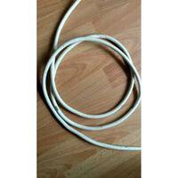 Minimaal 5 stuks afnemen, Witte kabel per meter
