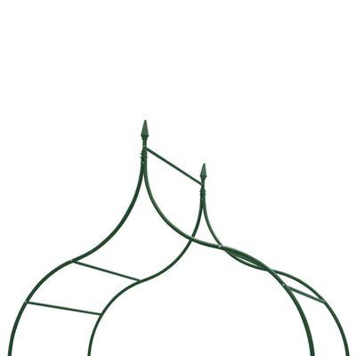 vidaXL Tuinboog speer ontwerp donkergroen