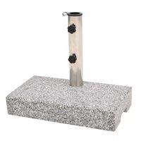 vidaXL Parasolvoet rechthoekig 25 kg graniet