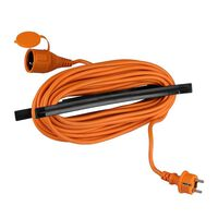 V-tac Vt-3002-15 Verlengsnoer Met Beschermklep - 15 Meter - Oranje
