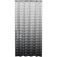 Sealskin douchegordijn Speckles 180 cm zwart 233601319