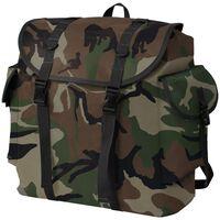 vidaXL Rugzak legerstijl 40L camouflage