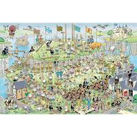 Jumbo legpuzzel Highland Games 1500 stukjes