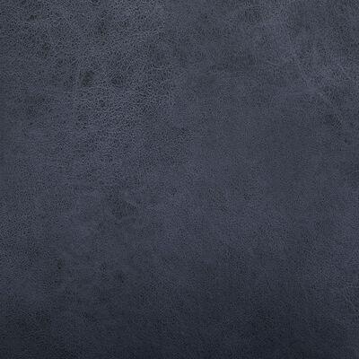 vidaXL Eetkamerstoelen 6 st kunstsuède grijs