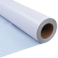 vidaXL Privacyfolie mat melkglas zelfklevend 0,9x20 m