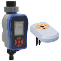 vidaXL Watertimer digitaal met enkele uitgang en vochtsensor