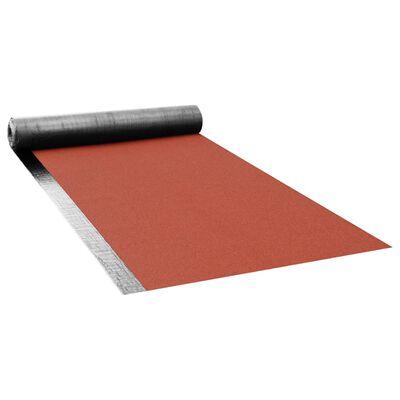 vidaXL Dakpapier met lasnaad V60 S4 1 rol 5 ㎡ bitumen rood