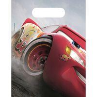 Disney uitdeelzakjes Cars Legend 23 x 16 cm 6 stuks rood