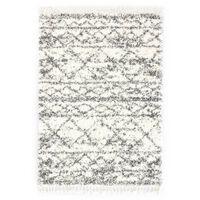 vidaXL Tapijt Berber shaggy hoogpolig 140x200 cm PP beige zandkleurig