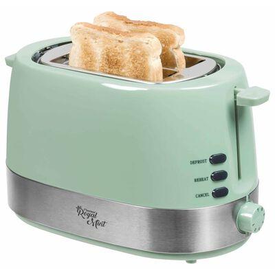 Bestron Broodrooster met broodjeswarmer ATS1000M 850 W mint