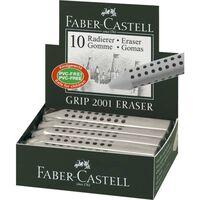 Faber Castell Gum Faber-Castell GRIP 2001 grijs