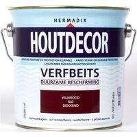 Houtdecor 633 wijnrood 2500 ml