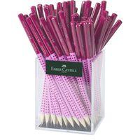Potlood Faber-Castell Grip 2001 in koker, roze/lichtroze á  72 stuks
