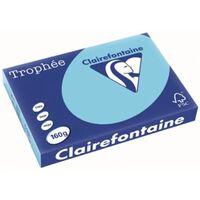 Clairefontaine Trophée Pastel A3, 160 g, 250 vel, helblauw