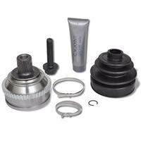 vidaXL 7-delige Aandrijfas koppelstukkenset wielzijde voor VW
