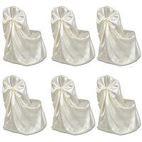 Bruiloft Stoelhoes Crème (6 stuks)