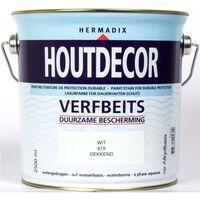 Houtdecor 619 wit 2500 ml
