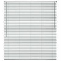 vidaXL Zonwering aluminium 80x160 cm zilverkleurig