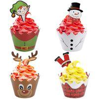 Kerstversiering En Bakblikken Voor Kersttaarten En -taarten 24-pack