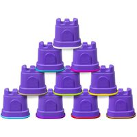Kinetic Sand Kasteelcontainers 10 st