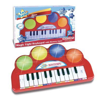 Bontempi Speelgoedkeyboard Toy Band elektronisch met 22 toetsen