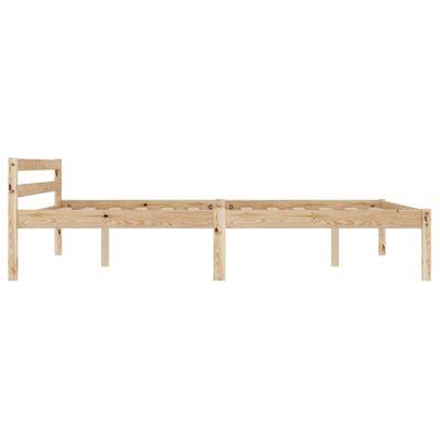 vidaXL Bedframe met 2 lades massief grenenhout 120x200 cm